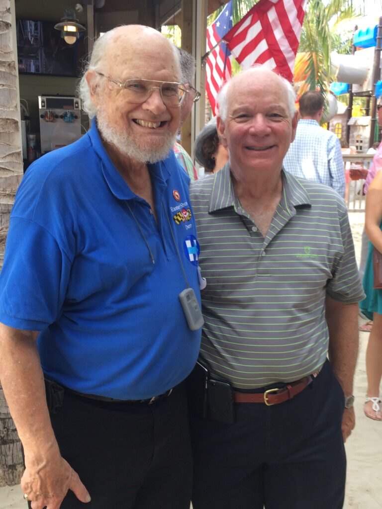 Jerry White and Senator Ben Cardin