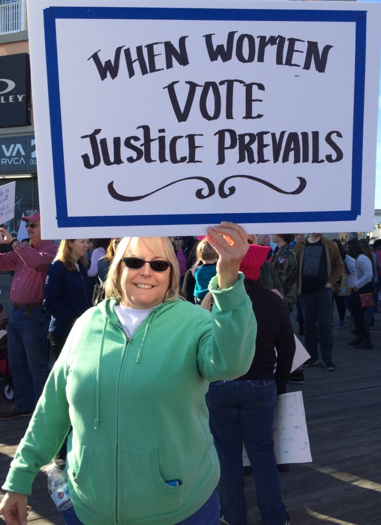 Ocean City's Women's March 2018 ~ Karen Harris