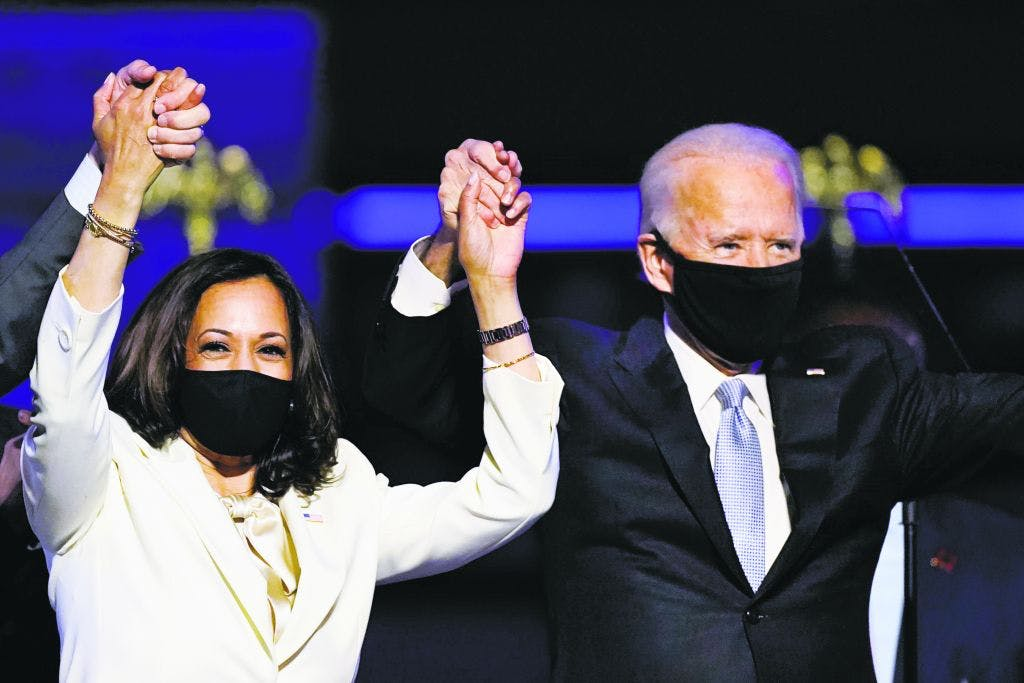 President Elect Joe Biden and Vice President Elect Kamala Harris